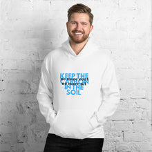 Load image into Gallery viewer, No Coal or Oil Unisex Hoodie