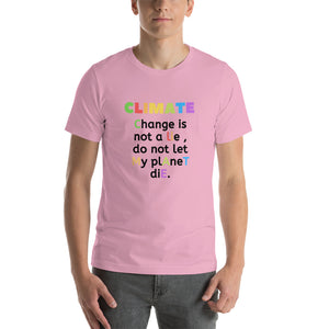 Climate Change Short-Sleeve Unisex T-Shirt