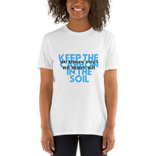Load image into Gallery viewer, Carbon in the soil Unisex Tees