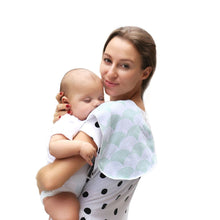 Load image into Gallery viewer, 100% Organic Cotton Bibs Baby Burp Cloths For Newborns Soft And Absorbent Towels