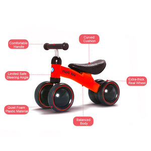 High Quality Children Three wheel Balance Bike kids Scooter Baby Walker 1-3 Years Tricycle Bike Ride On Toys Gift for Baby