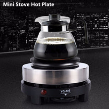 Load image into Gallery viewer, Mini Electric Stove Hot Plate Multifunction Coffee Tea Heater Home Appliance