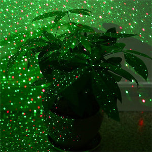Outdoor Moving Christmas Laser Projector Outdoor Landscape Lawn Garden Light