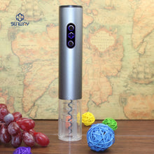 Load image into Gallery viewer, Aluminum Alloy  Automatic Wine Bottle Opener With Foil Cutter