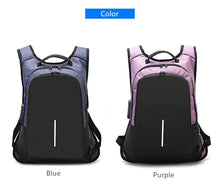 Load image into Gallery viewer, Teens Stylish  Anti-theft USB Charging Backpack For Women And Men (15.6 inch)