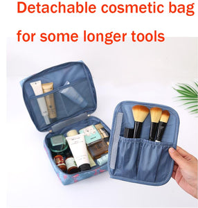 Women Makeup Bags Toiletries Organizer Waterproof Female Storage Make up Cases