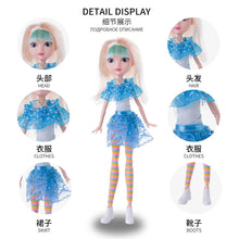 Load image into Gallery viewer, 4pcs/set Cartoon Fairy Fantasy Patrol Fashion Doll Cloth Model Toys