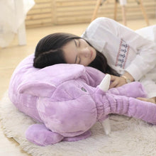 Load image into Gallery viewer, Elephant Plush Toy Sleeping