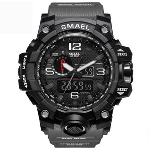 Dark Grey Military Watch
