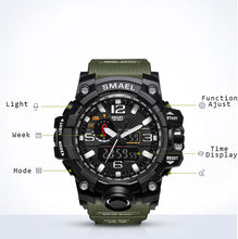 Load image into Gallery viewer, Military Watch Functionality