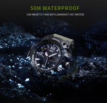 Load image into Gallery viewer, Waterproof Military Watch