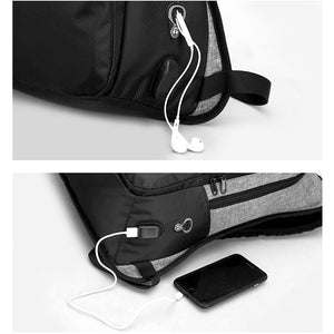 Teens Stylish  Anti-theft USB Charging Backpack For Women And Men (15.6 inch)