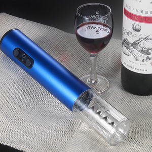 Aluminum Alloy  Automatic Wine Bottle Opener With Foil Cutter