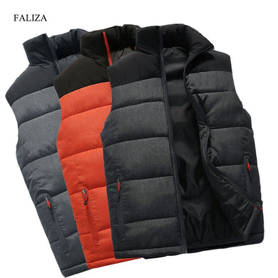 New Mens Jackets Sleeveless Vest
