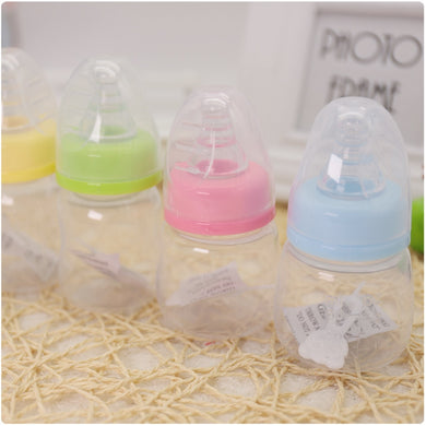 60ML Baby Mini Portable Feeding Newborn Kids  BPA Free Safety Bottles