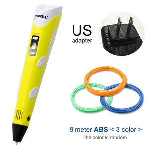 yellow 3d pen for US