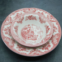 Load image into Gallery viewer, The Old Britain Castles Pink European Style Dinner Ware Ceramic Dishes