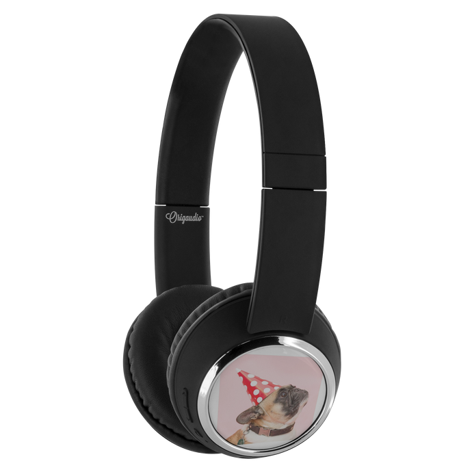 Headphones - Beebop Party Pug