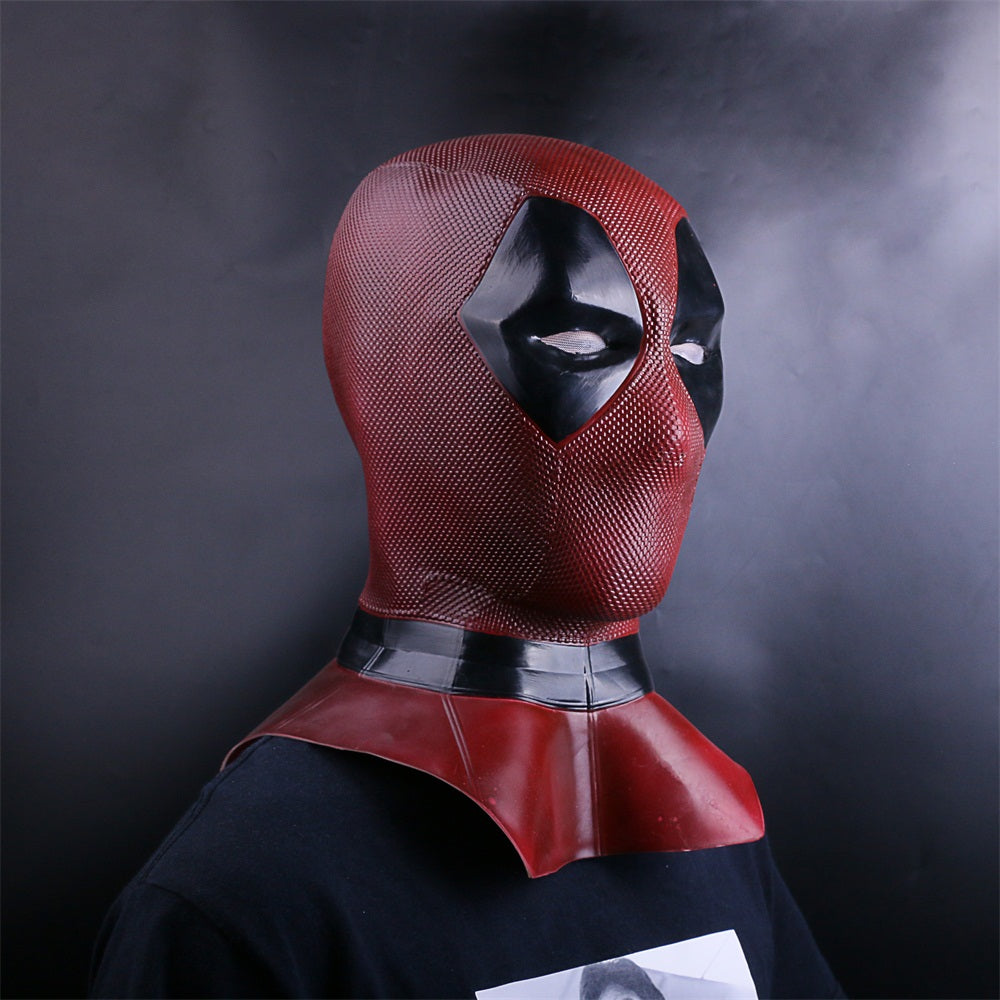 Deluxe Deadpool Mask Weapon X Superhero Full Face Mask
