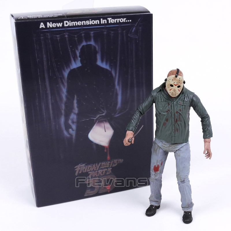 NECA Friday the 13th Part 3 3D Jason Voorhees Action Figure