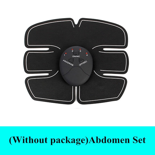 Abdominal Wireless Machine Electric Muscle Stimulator Stimulation ABS EMS Trainer Fitness Weight Loss