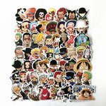 61 Pcs ONE PIECE Luffy Stickers For Car Laptop Waterproof Decal