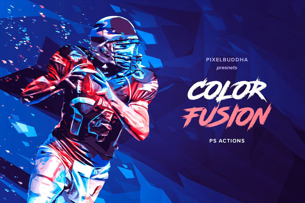 Color Fusion FX Photoshop Actions