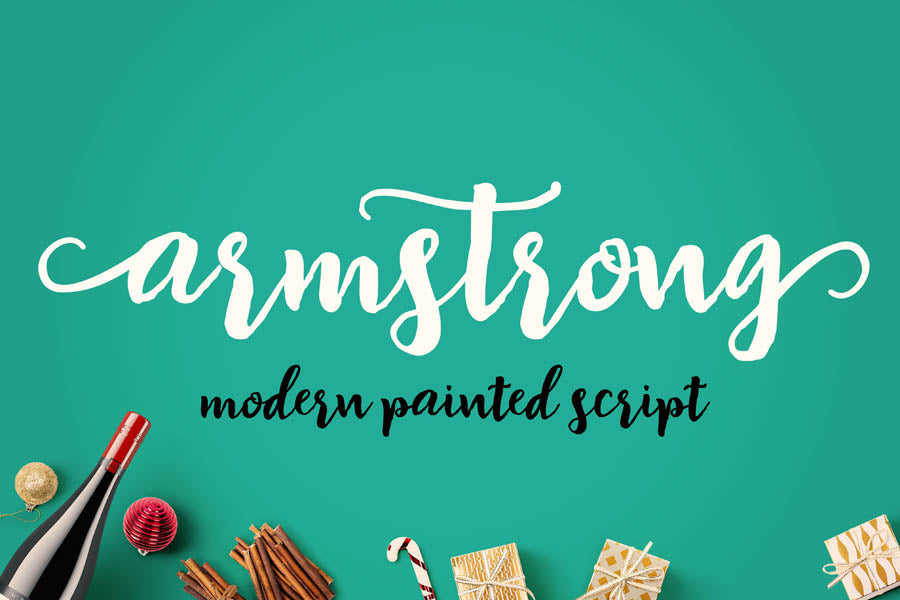 Armstrong Script Font Family