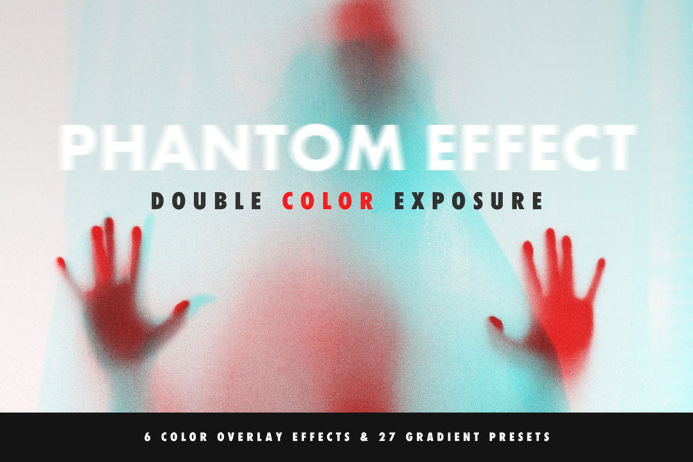 Double Color Exposure Effect for Photoshop
