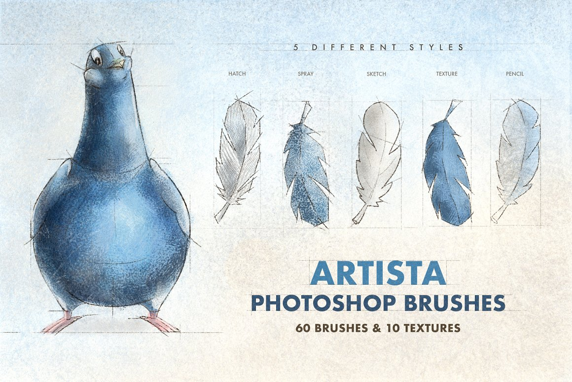 Artista Photoshop Brushes