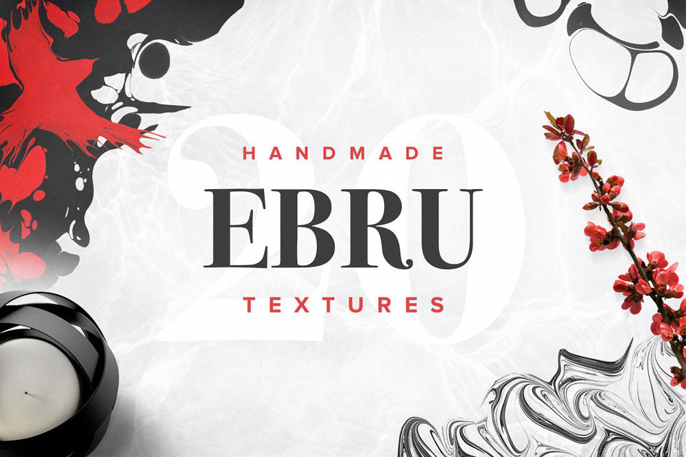 Handmade Ebru Textures Collection