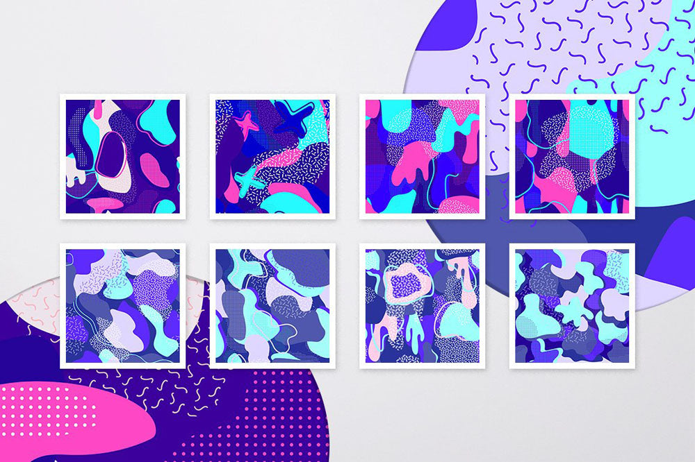 Cosmic Abstract Patterns Collection
