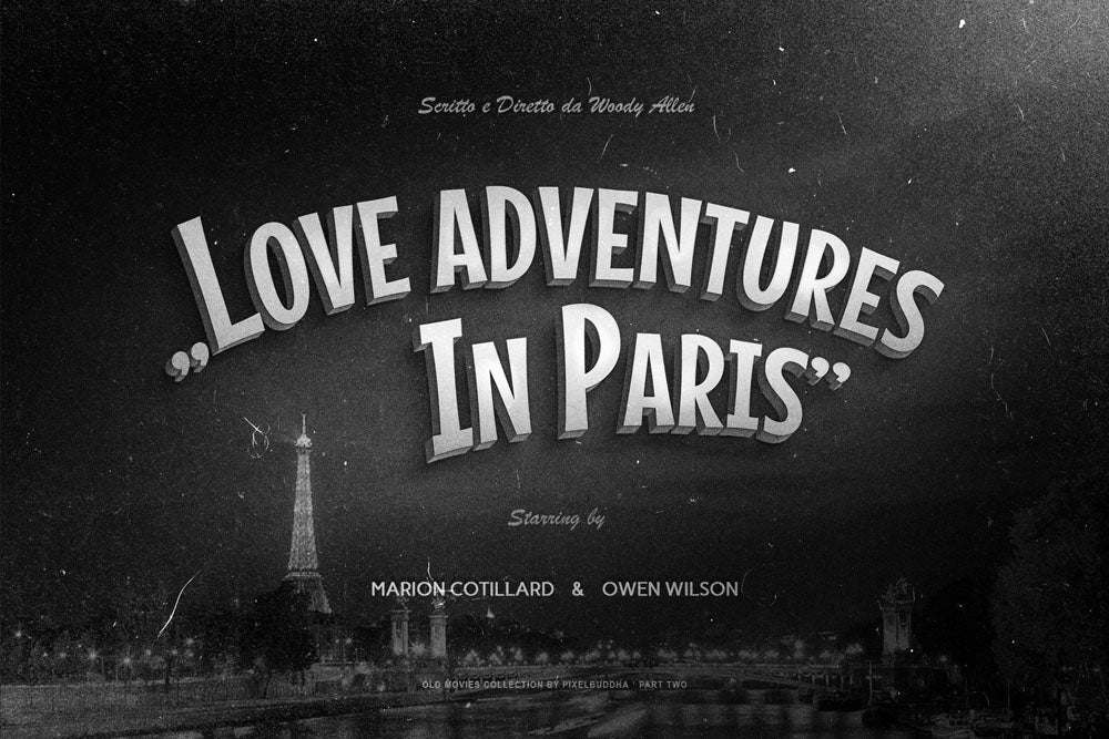 Old Movie Titles Templates Collection 2