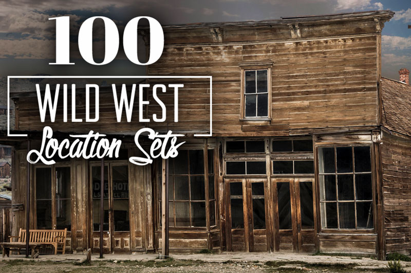 100 Wild West Locations Photos