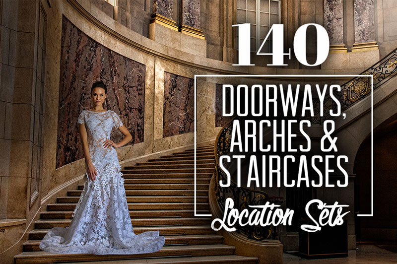 140 Doorways, Arches and Staircases Locations Photos