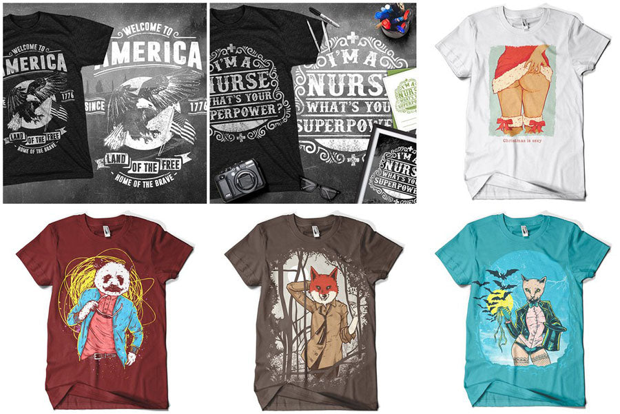 T-Shirt Design Mega Collection