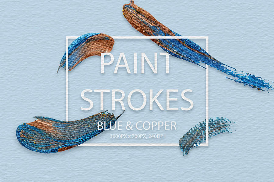 800 Artistic Brush Strokes Collection