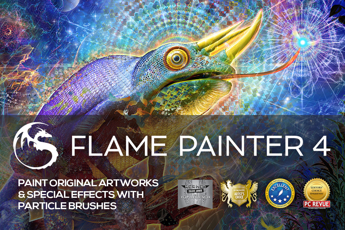Flame Painter 4: Special FX particle painter app