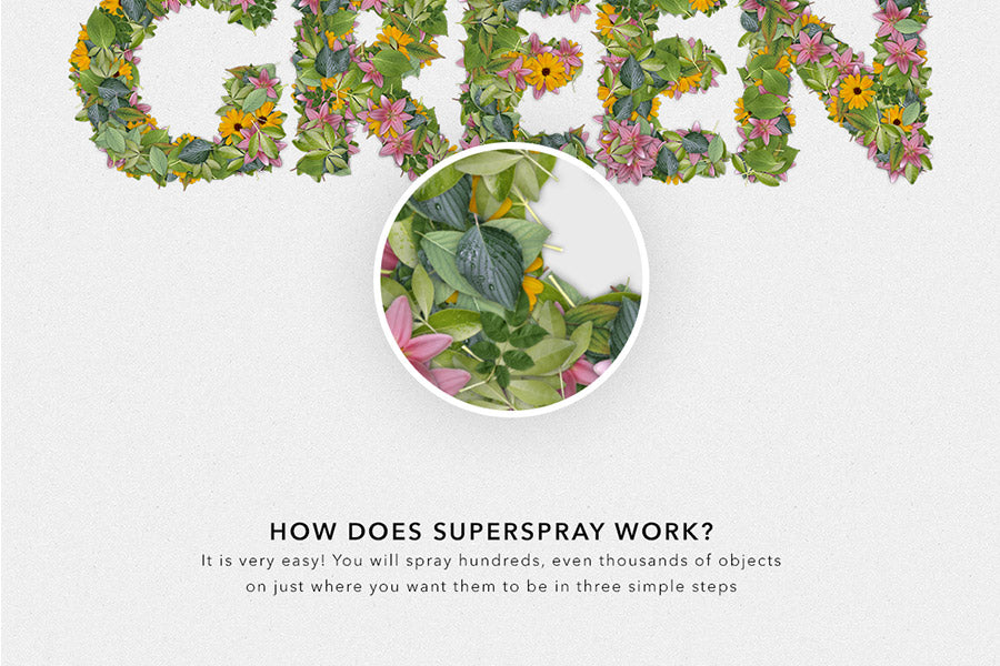SuperSpray Photoshop Plugin