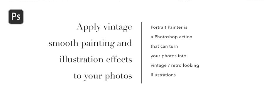 Retro Painter Photoshop Action