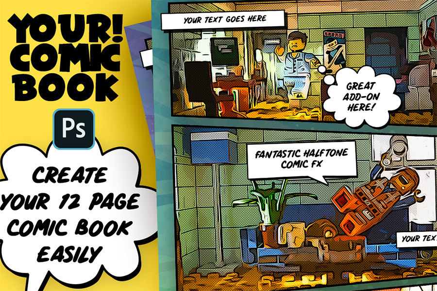Your! Comic Book Creator