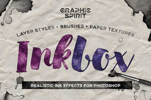 InkBox Realistic Ink Effects for Photoshop