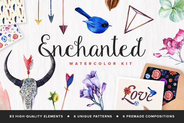 The Enchanted Watercolor Collection