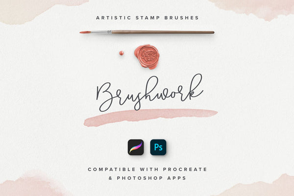Brushwork PS & Procreate Brushes
