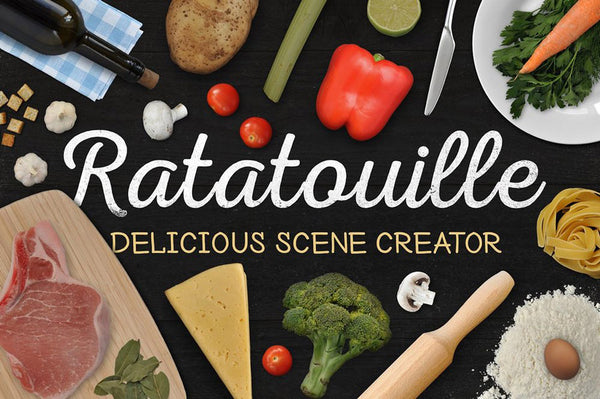 Ratatouille Delicious Food Scene Creator