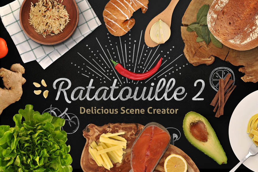 Ratatouille 2 Delicious Food Scene Creator