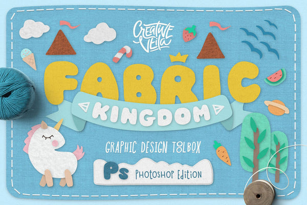 Fabric Kingdom Photoshop Layer Styles
