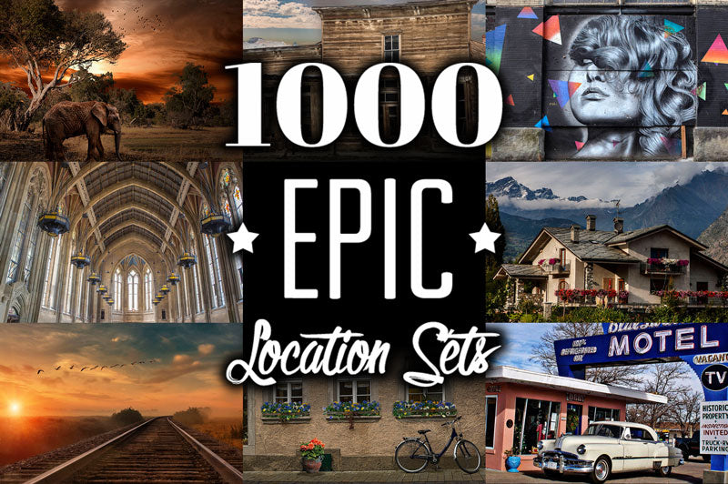 1000 Epic Location Sets Collection