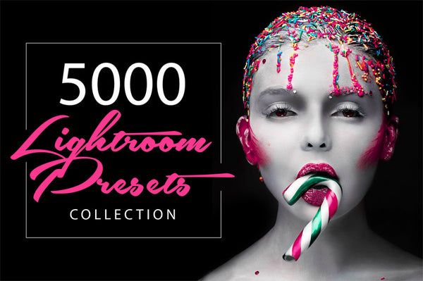 5000 Adobe Lightroom Presets Collection