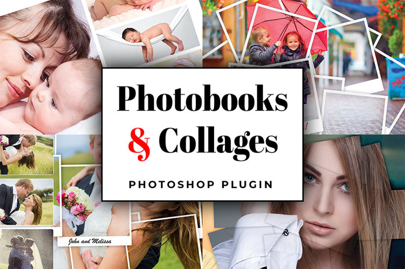 Photobooks and Collages Photoshop Plugin